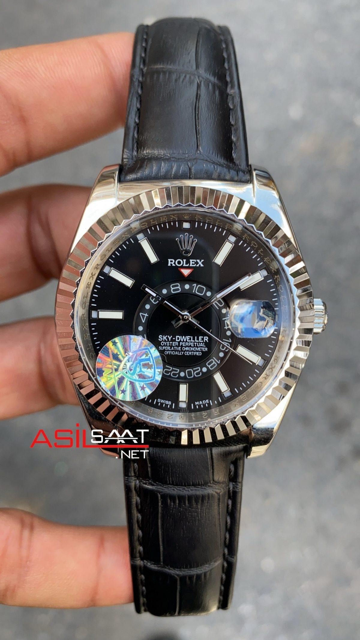 Rolex Sky Dweller Leather 326139 ROLSKY004