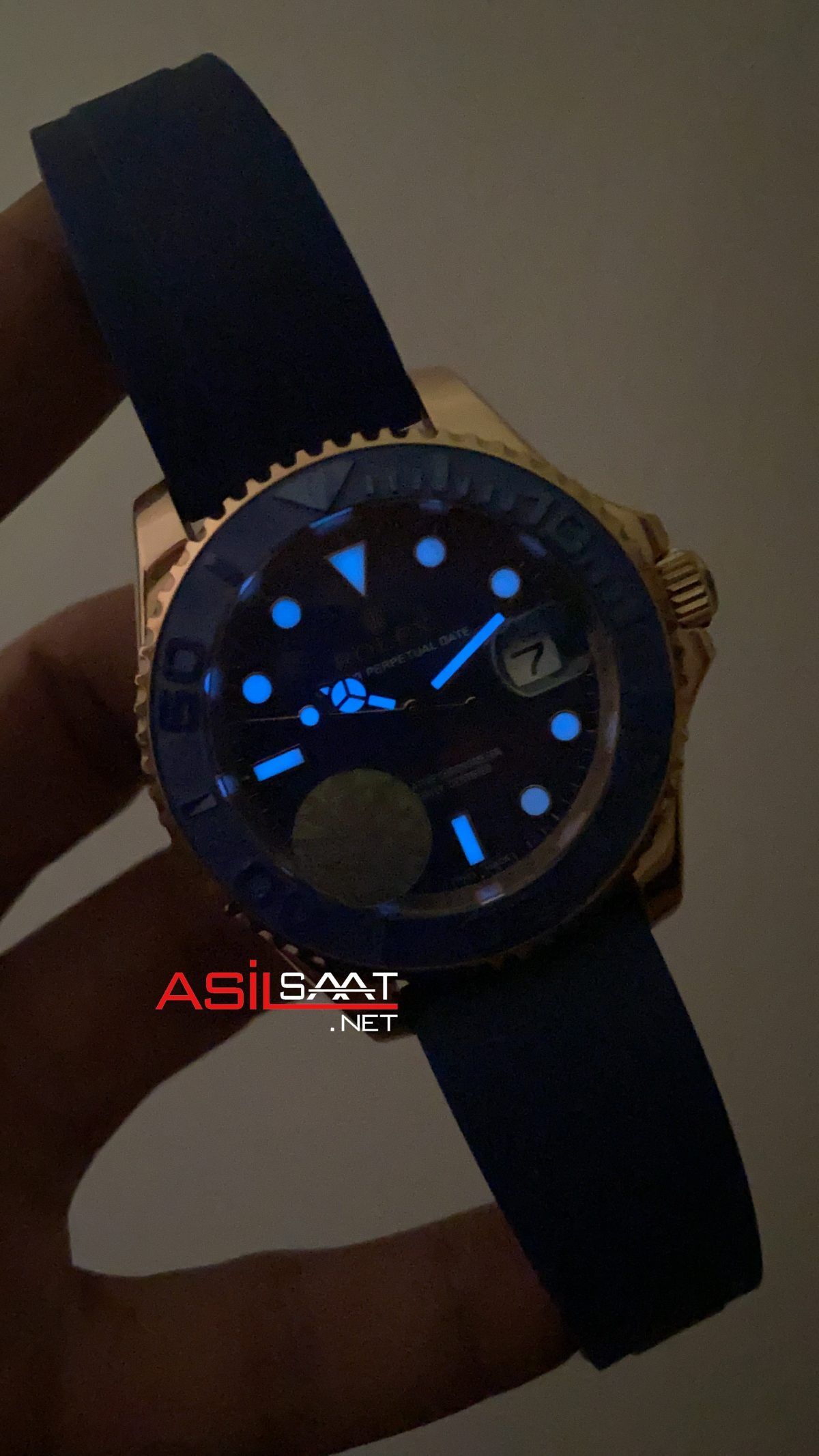 Rolex Yacht Master Blue 268655 ROLYAC013