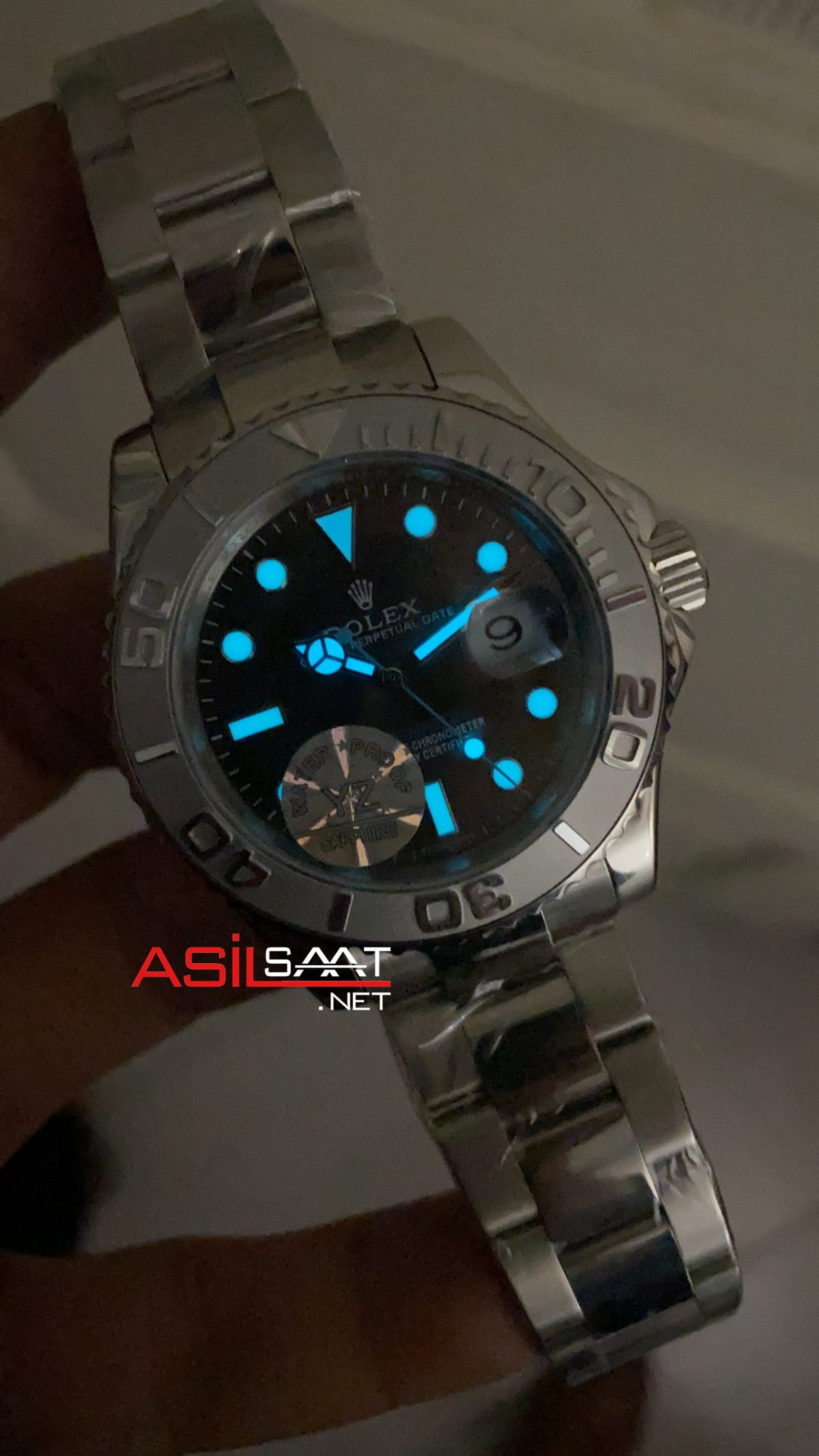 Rolex Yacht Master Dark Rhodium 268622 ROLYAC001