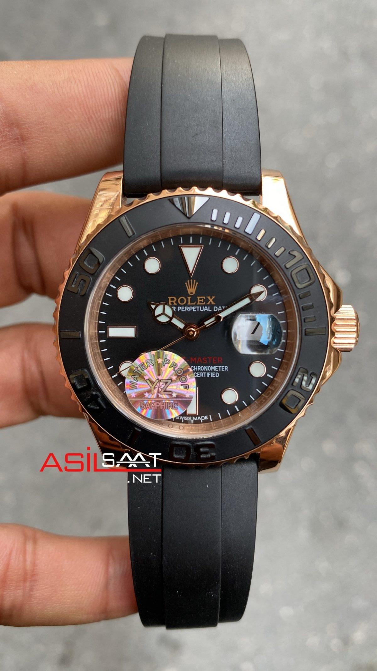Rolex Yacht Master Everose Rubber 116655 ROLYAC009