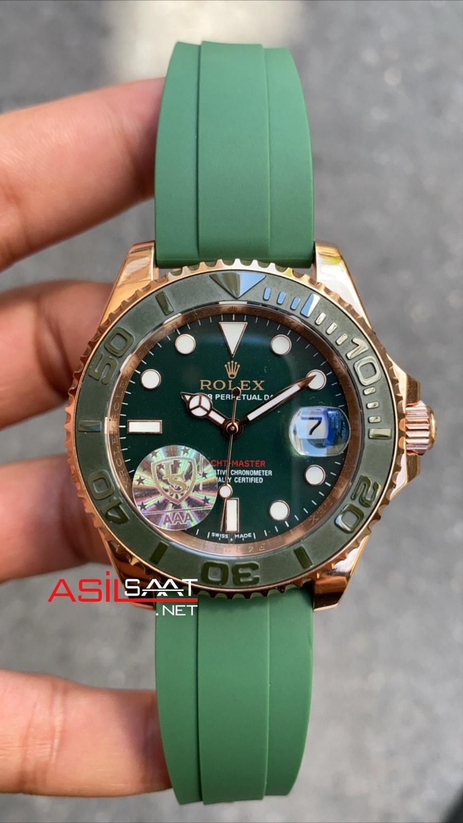 Rolex Yacht Master Green 268655 ROLYAC011