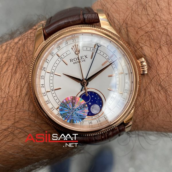 Rolex Cellini Moonphase 50535 Dial White ROLCE002