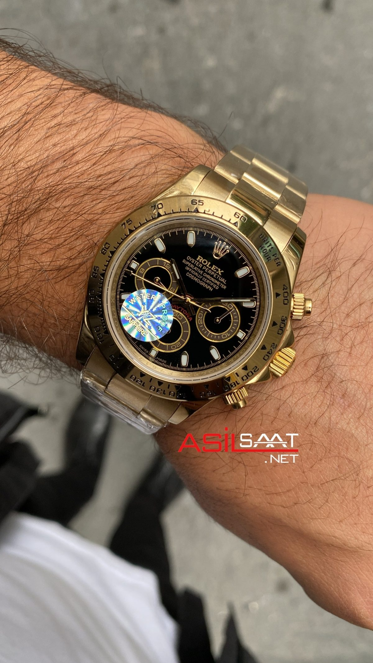 Rolex Cosmograph Daytona Gold 116508 Siyah Kadran ROLDA017