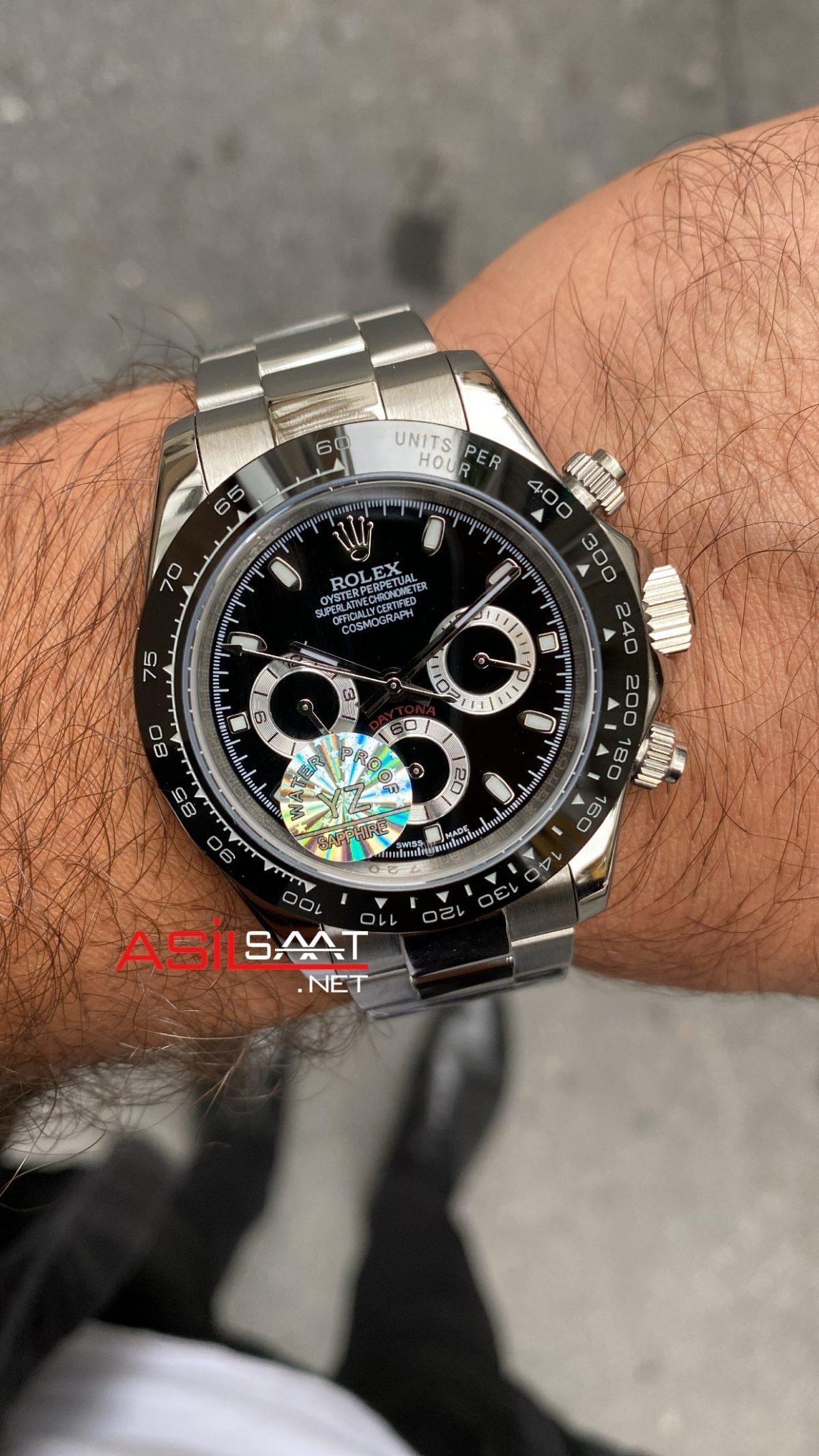 Rolex Daytona Cosmograph 116500 LN Black Dial ROLDA001